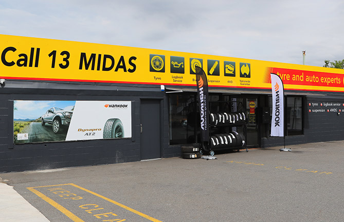 The new Midas Tyre & Auto Centre in Brisbane